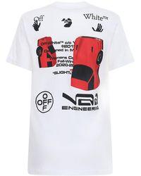 Off-White c/o Virgil Abloh - T-shirt Aus Baumwolljersey - Lyst