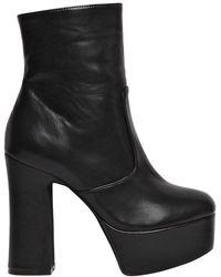 Jeffrey Campbell - 130mm De-facto Faux Leather Boots - Lyst