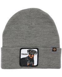 """Goorin Bros Bonnet En Acrylique """"Tough Dog"""" - Gris"""