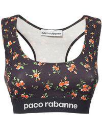 Paco Rabanne - ストレッチジャージートップ - Lyst