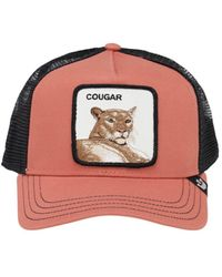 Goorin Bros Cougar Townパッチ トラッカーハット - ピンク