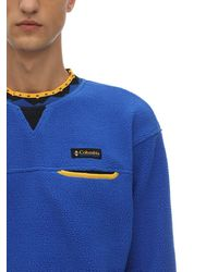 "Columbia Sweatshirt ""wapitoo"", Limit. Ed. - Blau"