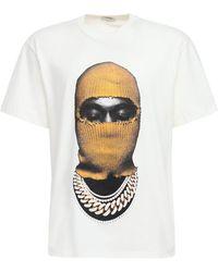 """ih nom uh nit Camiseta Estampada """"mask"""" De Algodón - Blanco"""