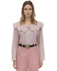 Acheval Pampa Evita Cotton Voile Blouse - Pink