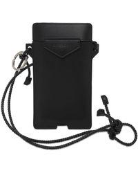 Givenchy Кожаный Чехол Для Телефона - Черный