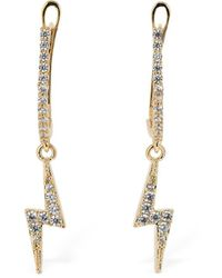 FEDERICA TOSI Mini Flash Charm Earrings - Mettallic