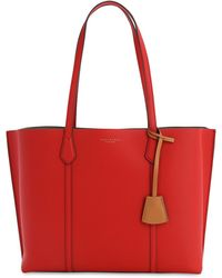 """Tory Burch Tote Aus Leder """"perry"""" - Rot"""
