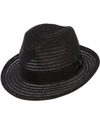 Borsalino - Medium Brim Hemp Hat - Lyst