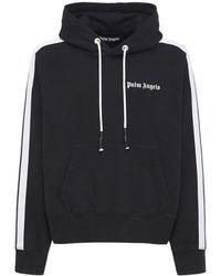 Palm Angels Спортивная Куртка Из Джерси - Черный