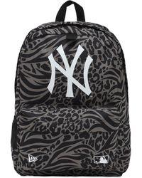 KTZ Ny Yankees プリントバックパック - ブラック