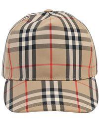 Burberry Baseballkappe Aus Baumwollmischung - Mehrfarbig