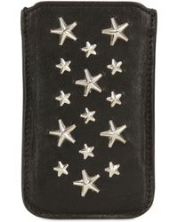 Jimmy Choo - Trent Leather Iphone 4/4s Case - Lyst