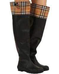 Burberry Stiefel für Damen - Schwarz