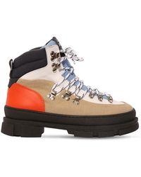 Ganni Ботинки Из Хлопка 45mm - Многоцветный