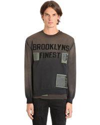 MadeWorn - Brooklyns Finest Cotton Sweatshirt - Lyst