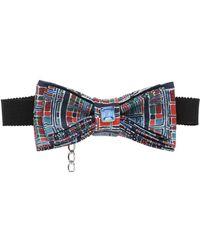 Christian Correnti - Printed Silk Crepe De Chine Bow Tie - Lyst