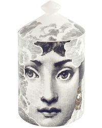 Fornasetti Nuvola Gold Mistero Scented Candle - White