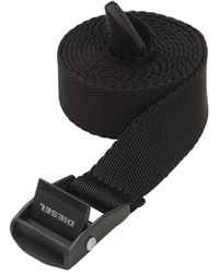 DIESEL 25mm Techno Belt - Black