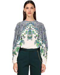 Givenchy シルククレープシャツ - マルチカラー