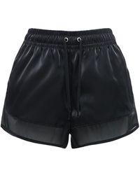 """Nike Shorts """"w Nsw Air Sheen"""" - Schwarz"""