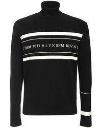 1017 ALYX 9SM - Pull-Over En Viscose Stretch Avec Logo - Lyst