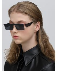 Le Specs Adam Selman The Flex Sunglasses - Schwarz