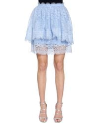 Ermanno Scervino - Layered Lace Skirt - Lyst