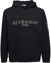 Givenchy - コットンスウェットフーディー - Lyst