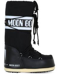 Moon Boot Classic ウォータープルーフナイロンスノーブーツ - ブラック