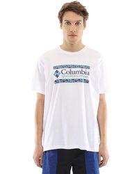 """Columbia - Хлопковая Футболка """"rapid Ridge Graphic"""" - Lyst"""