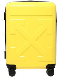Off-White c/o Virgil Abloh Arrow Logo Embossed Pvc Trolley - Yellow