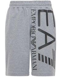 EA7 - Train Logo バミューダパンツ - Lyst