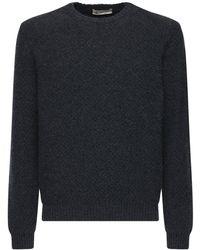 Piacenza Cashmere ウール&アルパカセーター - グレー
