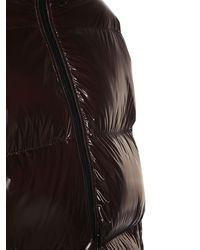 Bottega Veneta - Куртка Из Блестящего Нейлона Оверсайз - Lyst