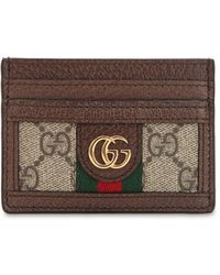 Gucci - Визитница 'ophidia GG' - Lyst