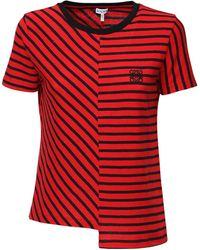Loewe コットンニットtシャツ - レッド