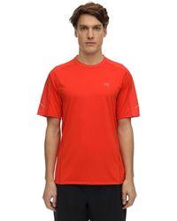 "Arc'teryx T-shirt En Tech ""motus"" - Rouge"