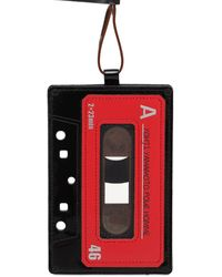 "Yohji Yamamoto - Porte-cartes En Cuir ""cassette A"" - Lyst"