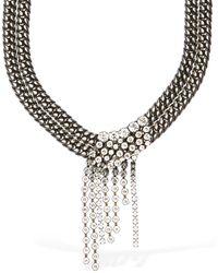 Isabel Marant Collar Corto De Cristales - Negro