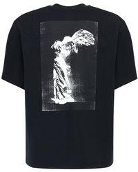 Nike T-shirt Aus Fleece Und Technostoff - Schwarz