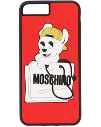 Moschino - Pudgy Printed Iphone 7 Plus Cover - Lyst