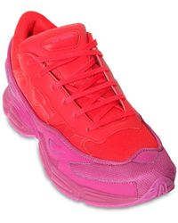 adidas By Raf Simons Rs Ozweego Iii Trainers - Red