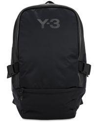 Y-3 Racer ナイロンバックパック - ブラック