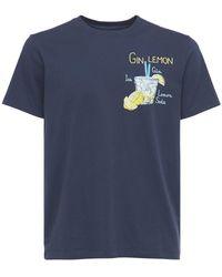 Mc2 Saint Barth - Gin Lemon コットンジャージーtシャツ - Lyst