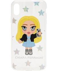 Chiara Ferragni Чехол Для Iphone Xs Max - Белый