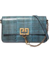 Givenchy - Charm Ayers Snakeskin Shoulder Bag - Lyst