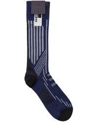 Prada - Logo Jacquard Socks - Lyst