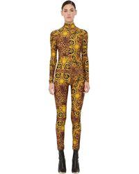 Versace Jeans Couture Archive Print テクノジャンプスーツ - マルチカラー