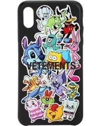 Vetements Monster Stickers Iphone Xs Max ケース - ブラック