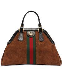 Gucci - Re(belle) Large Top Handle Bag - Lyst